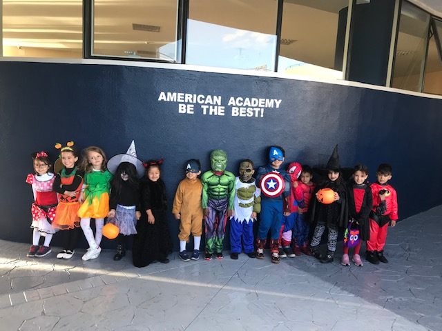 2018: AAC celebrating Halloween : Exploratorium