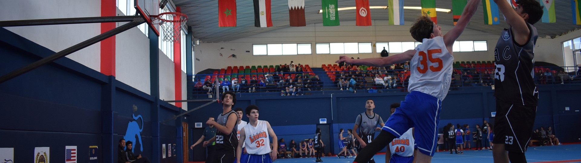 Basket ball at American academy casablanca